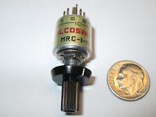 ALCOSWITCH  MIN. ROTARY SWITCH  MRC-1-10  1 POLE - 10 POSITIONS BBM  NOS
