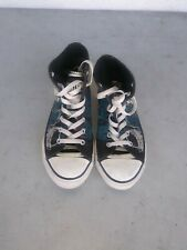 CONVERSE - Kids All Stars High Top Sneakers/Shoes(Rock & Roll Skull) Size 3