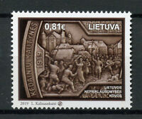 Lithuania 2019 MNH Lithuanian Wars of Independence 1v Set Military & War Stamps