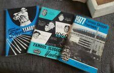 3 Vintage Famous Slugger Baseball Yearbooks, 1954, 1960, 1977 Minor Hank Aaron++