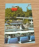 "Genuine Vintage Disneyland ""A World on the Move"" Collectible Post Card **READ**"