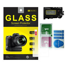 Tempered Glass Screen Protector w/ Top LCD Film for Panasonic Lumix DC-G9 DC G9