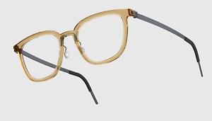 Authentic LINDBERG Acetanium 1261 Optical Eyeglasses // Beige- CLR *NEW*