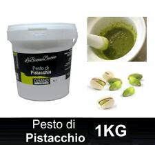 Pesto di pistacchio di Bronte con 70% di pistacchi per pasta  confezione da 1 kg