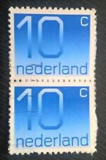 Nederlands stamps - Crouwel Type Numeral x2 - 1976 10 cents FREE P & P