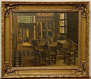 ADRIAAN KEUS (1875-1955) Original Still Life Oil Painting on Board FRAMED