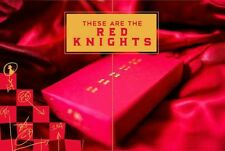RED KNIGHTS Deck Of Playing Cards Sealed Brand New by Ellusionist