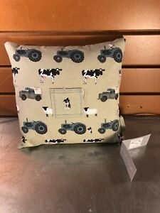 Sophie Allport Green Kid's Tooth Pillow- On The Farm- NWT