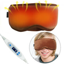 ARRIS Electric USB Heated Hot Steam Gift Eye Mask w 5 Temperature Control