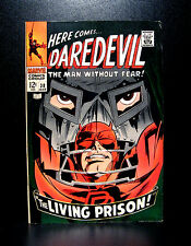 COMICS: Daredevil #38 (1968), Dr Doom app - RARE