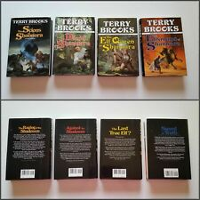 "**1st Editions, 1st Prints**, HERITAGE OF SHANNARA"" book set. Terry Brooks.Scion"