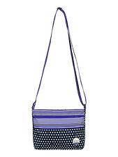 ROXY WOMENS BAG.NEW SUNDAY SMILE SMALL CROSS BODY BLUE SHOULDER BAG 7W 991 XMBB