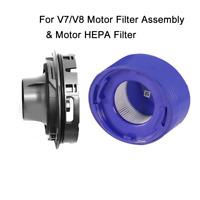 For Dyson V8 V7 Animal Absolute Cordless Vacuum Post HEPA Motor Filter+Assembly