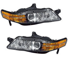 HID Xenon Headlights Headlamps Pair Set NEW for 04-05 Acura TL (Built in Canada)