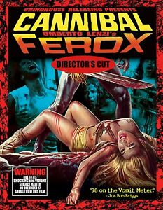 Cannibal Ferox Director's Cut (2-Blu-rays+CD) Mit Kassette