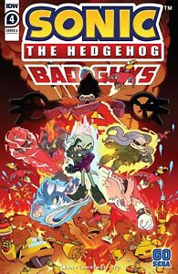 Sonic The Hedgehog: Bad Guys #4 - IDW - Bagged & Boarded