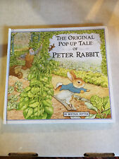 The Original Pop-Up Tale of Peter Rabbit by Beatrix Potter (1996, Hardcover)