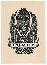 ALLAN JORDAN: Exlibris für S. V. Hagley