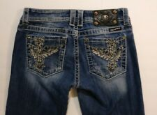 Miss Me Women's Size 28 JP5117SK-2 Skinny Fashionably Distressed Jeans (A7)