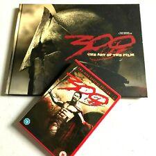 300 THE ART OF THE FILM Hardback Book + Special ED DVD Zack Snyder,Frank Miller
