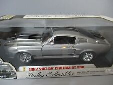 MIB!! 1967 SHELBY CUSTOM GT 500 1:18 DIECAST CAR FROM SHELBY COLLECTIBLES