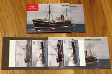 Iceland Booklet 2010 Trawlers Fishing Vessels 4x 165 kr - MNH - Excellent!