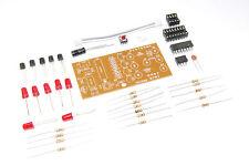 6 LED Dice DIY Kit Unsoldered 5V Dice Soldering Flux Workshop