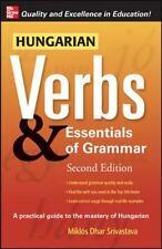 Hungarian Verbs & Essentials of Grammar (Paperback or Softback)