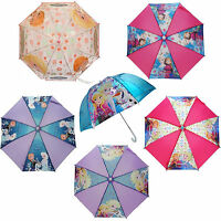 Official Disney Frozen Elsa Anna Olaf School Rain Brolly Umbrella Brand New Gift