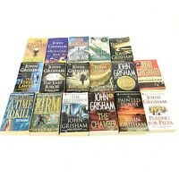 John Grisham Books Lot 17 Racketeer Rooster Bar Gray Mountain Partner Testament