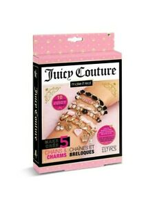 Juicy Couture Chains & Charms DIY Jewellery Make Your Own Bracelet Xmas Gift