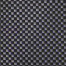 MICHAEL KORS Black Gray Light Gray CHECKERED Woven Silk Tie NWOT
