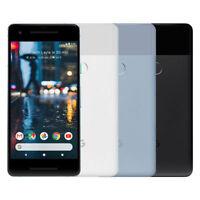 Google Pixel 2 64/128GB (Unlocked) Black, White, Blue 4G LTE Android Smartphone