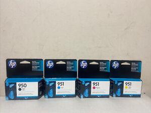 Full Set Genuine hp 950/951 (BK,C,Y,M) OfficeJet Pro 8100 8600 Expired:09/2020