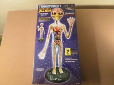 Lindberg Transparent Roswell Alien 19 Inch Figure New