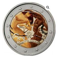 Italia  2 Euro Commemorativo  2008 Colorato