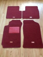 NEW OEM TOYOTA CELICA 2000-2005 RED CARPET FLOOR MATS 4-PIECE SET TRD