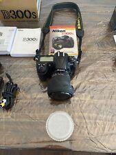 Nikon D300S 12.3Mp Digital Slr Camera - Black With Sigma Dc 17-70mm 2.8-4.5 Lens