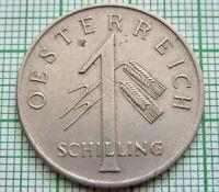 AUSTRIA 1934 1 SCHILLING
