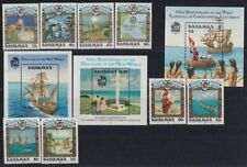 F-EX17833 BAHAMAS MNH DISCOVERY OF AMERICA COLUMBUS COLON  COLON  SET SHIP INDIA
