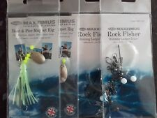 4 packs of Boat Rigs, 2 x Rock Fisher, 2 x Boat and Pier Muppet, Sea fishing