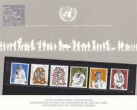 A Future For Refugees United Nations mint  never hinged stamps souvenir R20230