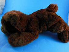 """T.L. Toys HK LTD. Plush bear 14"""" Long Very nice unique color pile fur"""