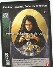 Patrizia Giovanni, Collector of Secrets x1 Giovanni TAE VTES Jyhad
