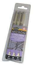 Cartera 3 Sakura Pigma Micron fineliners Tinta archival Dibujo & ilustrando Plumas