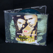 2 Unlimited - Maximum Overdrive - music cd EP