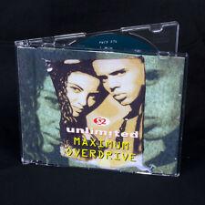 2 Unlimited - Maximum Overdrive - MUSICA CD EP