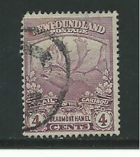 Newfoundland Stamps- Scott # 118/A67-4c-Canc/LH-1919