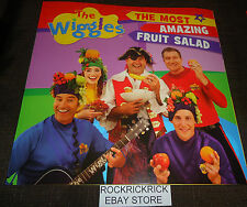 THE WIGGLES - THE MOST AMAZING FRUIT SALAD -24 PAGE BOOK- (BRAND NEW)