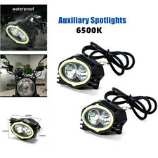 Spotlights Motorcycle Rearview Mirror Light 20W Motorcycle Lights White Light